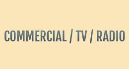 COMMERCIAL TV RADIO