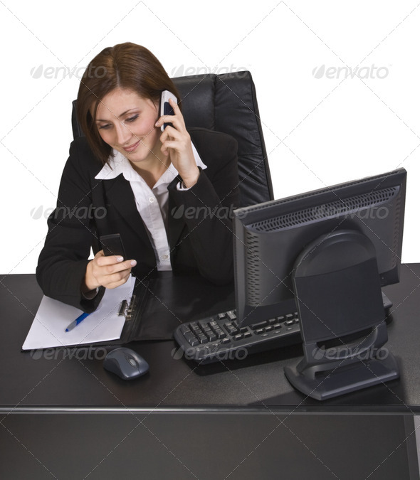 Busy Call - Stock Photo - Images