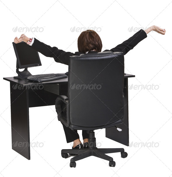 Business Relaxation Moments  - Stock Photo - Images