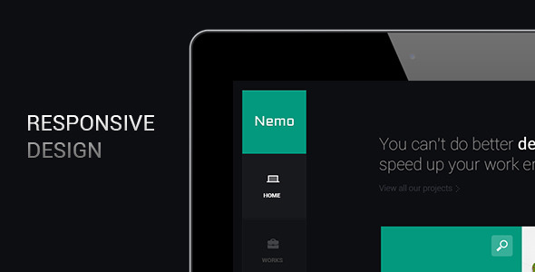 Nemo - Metro Inspired Wordpress Theme