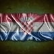 Vintage Croatia flag. - PhotoDune Item for Sale