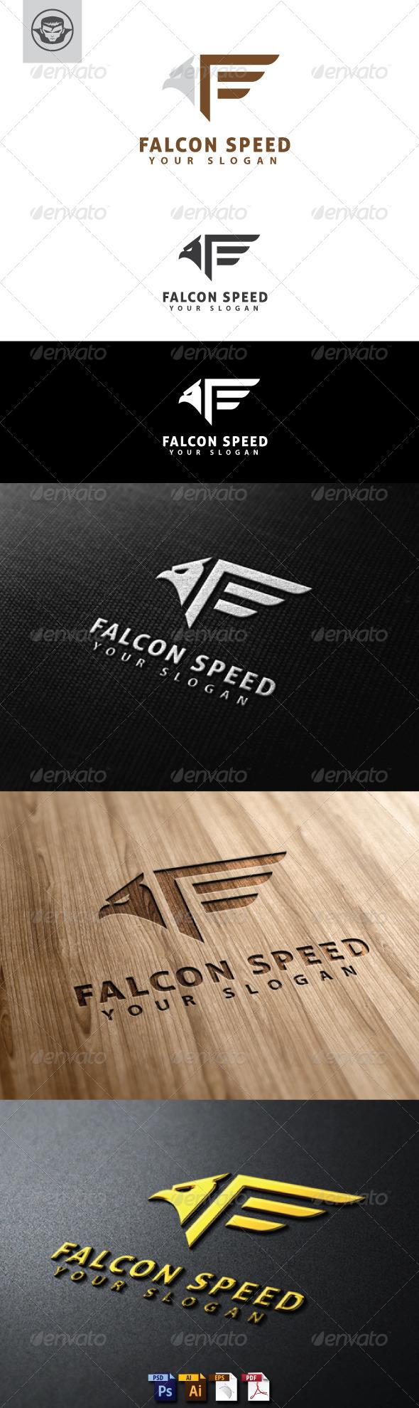 GraphicRiver Falcon Speed Logo Template 4748436