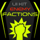 Enemy Factions UI Set - GraphicRiver Item for Sale