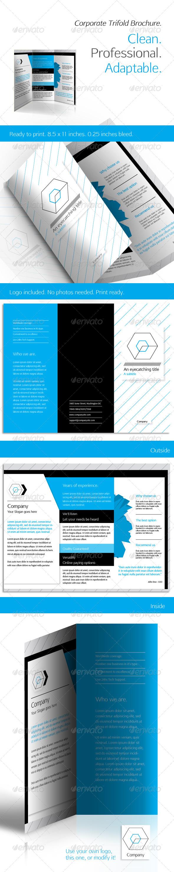 GraphicRiver Corporate Trifold Brochure 4748681