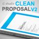 Gstudio Clean Proposal Template V2 - GraphicRiver Item for Sale
