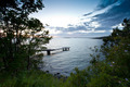 Small jetty between trees - PhotoDune Item for Sale