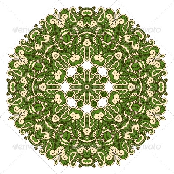 GraphicRiver Vector Round Decorative Design Element 4749220