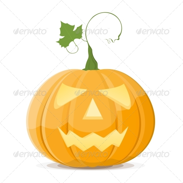 GraphicRiver Halloween Pumpkin 4749305
