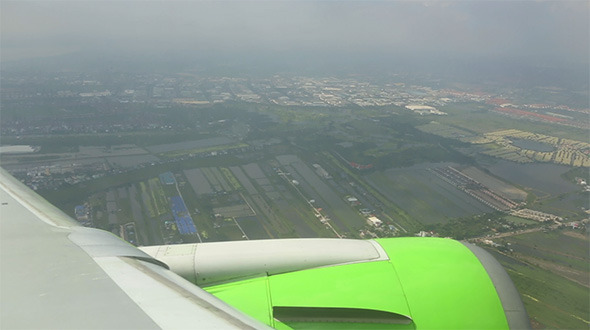 Minutes Before Landing