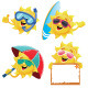 Sun Characters - GraphicRiver Item for Sale