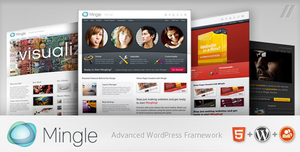ThemeForest Mingle Multi-purpose WordPress Theme 235056