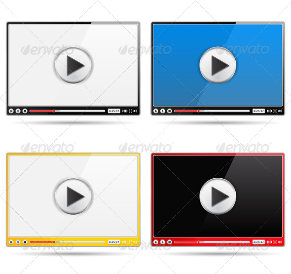 GraphicRiver Video Players 4751182
