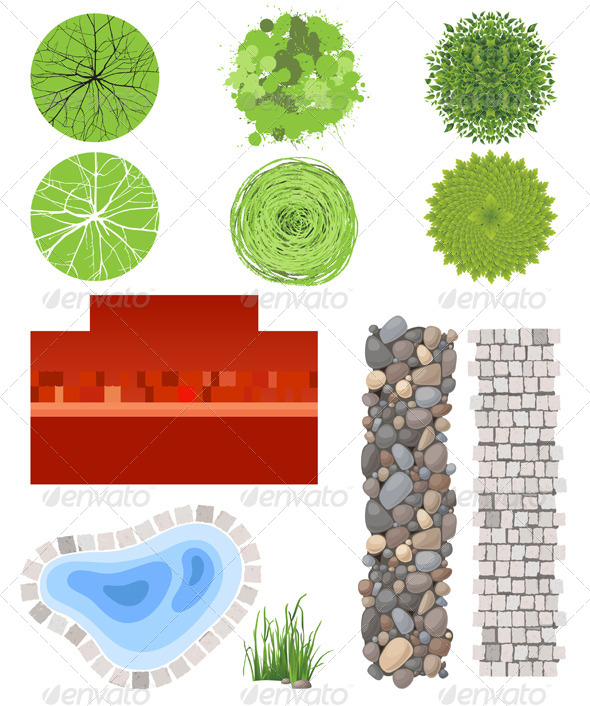 landscape plan psd stock photos graphics