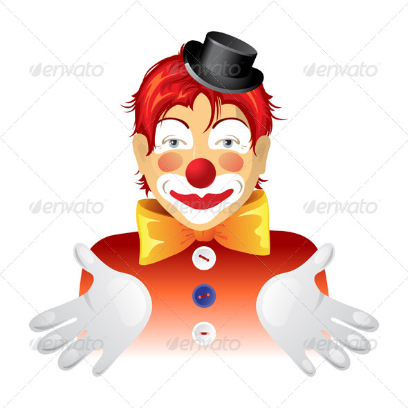 GraphicRiver Clown 4751334