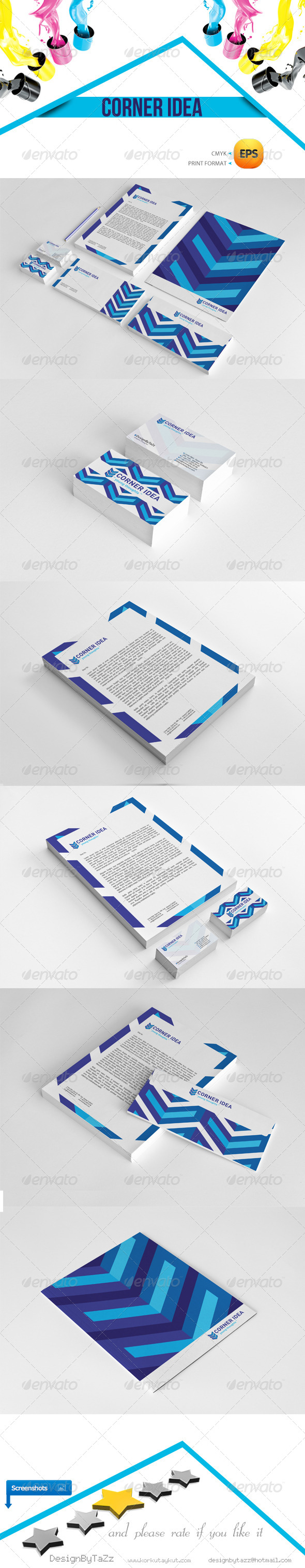 GraphicRiver Corner Corporate Identity Package 4681082