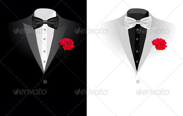 GraphicRiver Vector Black Business Suit 4294863