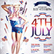 4Th July Party Flyer Template - GraphicRiver Item for Sale