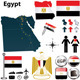 Map of Egypt - GraphicRiver Item for Sale