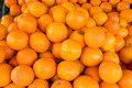 A pile of clementines