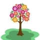 Fairy Flowering Tree - GraphicRiver Item for Sale