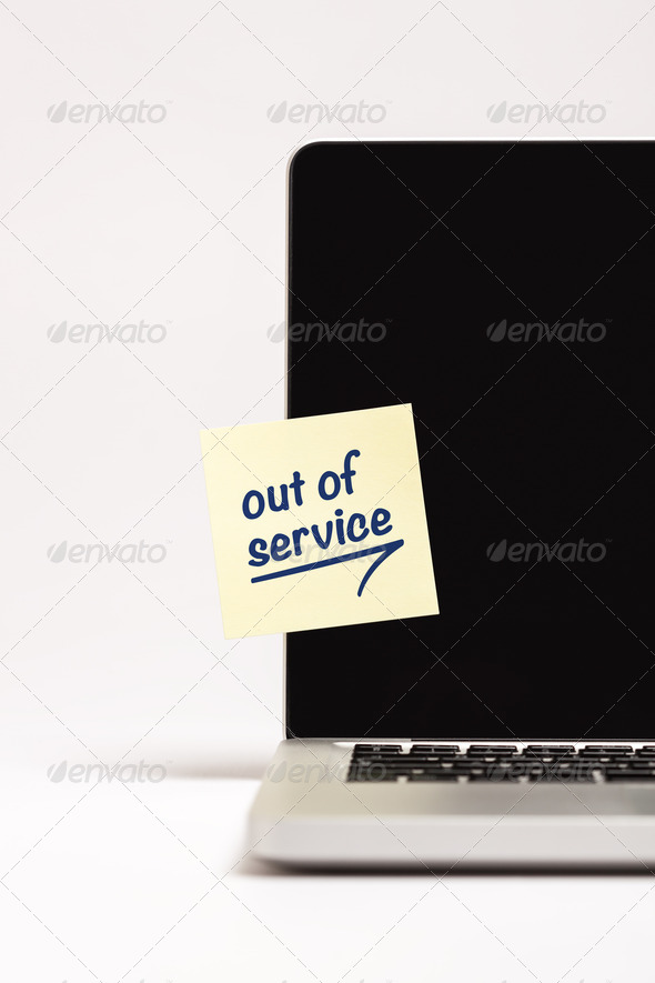 Out of Service - Stock Photo - Images