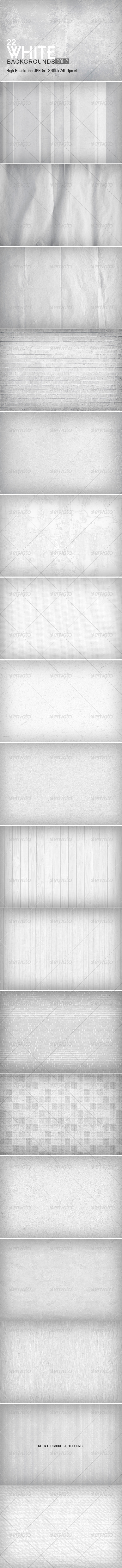 White Backgrounds Collection 2 - Miscellaneous Backgrounds
