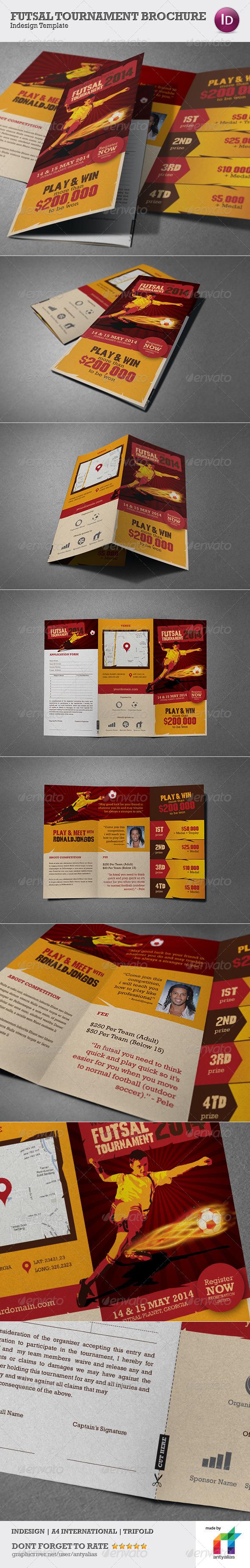 GraphicRiver Futsal Tournament Brochure 4753629