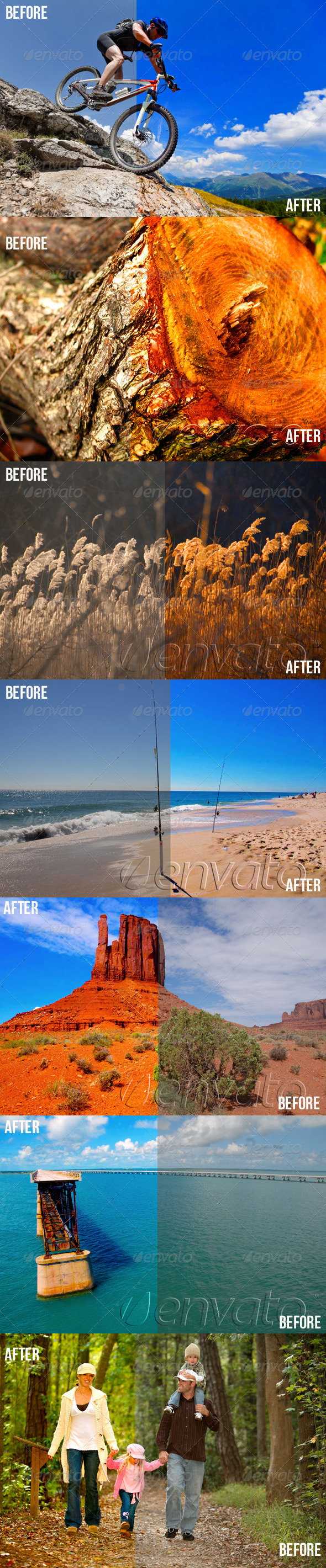 GraphicRiver Photoshop Color Enhance Actions 4753807