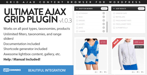 Ultimate Ajax Grid for WordPress (Galleries) images