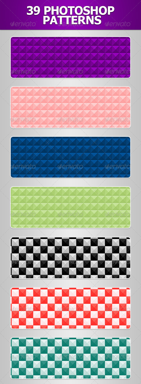GraphicRiver Squared Patterns 4739402