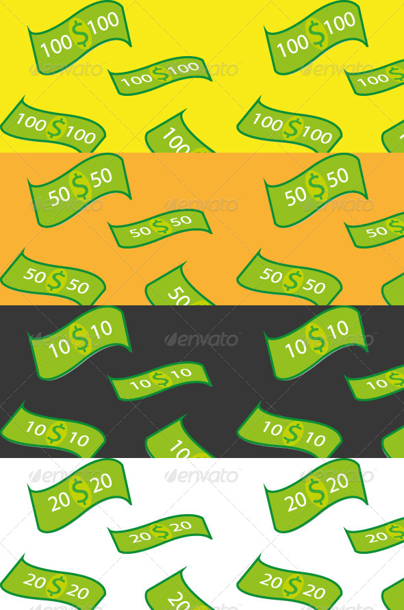 GraphicRiver Money Pattern 4754024