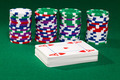 Poker chips and cards - PhotoDune Item for Sale