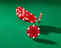 Red poker chips - PhotoDune Item for Sale