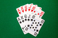 Poker cards with royal flush combination - PhotoDune Item for Sale