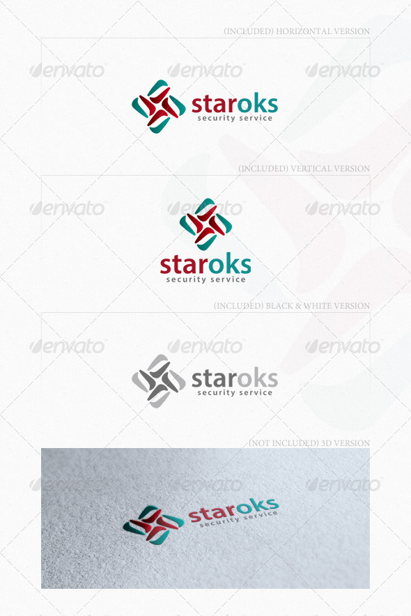 GraphicRiver Staroks Logo 4754801