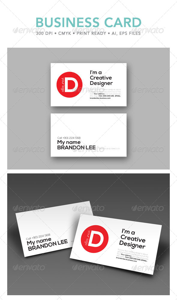 GraphicRiver Creative Business Card 4754811