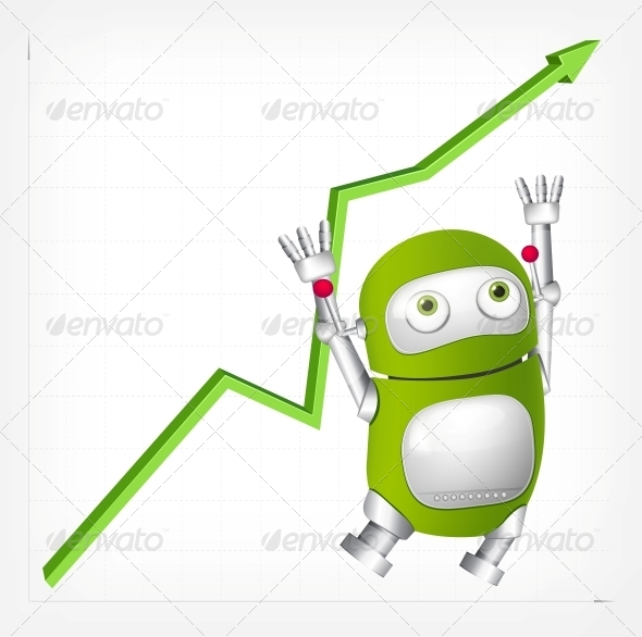 GraphicRiver Green Robot 4754815