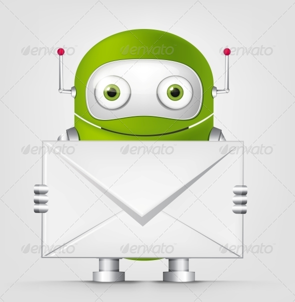 GraphicRiver Green Robot 4754818