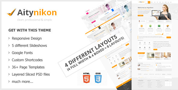 ThemeForest Aitynikon Responsive Multipurpose Template 4740841