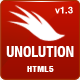 UNOLUTION One Complete Solution - Responsive HTML5 - ThemeForest Item for Sale