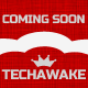 Techawake > Coming Soon Responsive Theme - ThemeForest Item for Sale