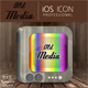 Old Media Application Icon - GraphicRiver Item for Sale