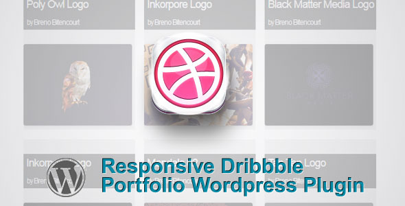 Responsive Dribbble Portfolio Wordpress Plugin