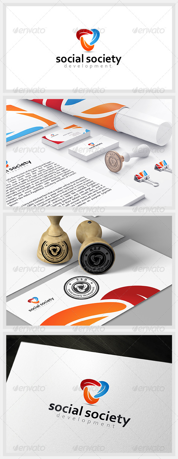 GraphicRiver Social Society Development 4756022