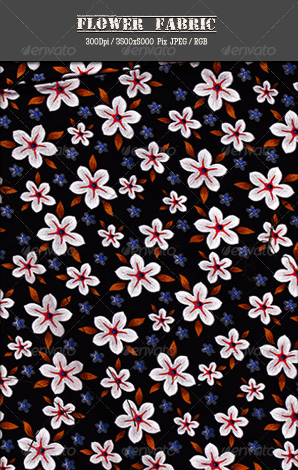 GraphicRiver Flower Fabric 3 4756134