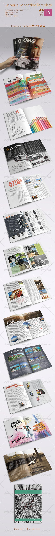GraphicRiver Universal Magazine Template 4756759