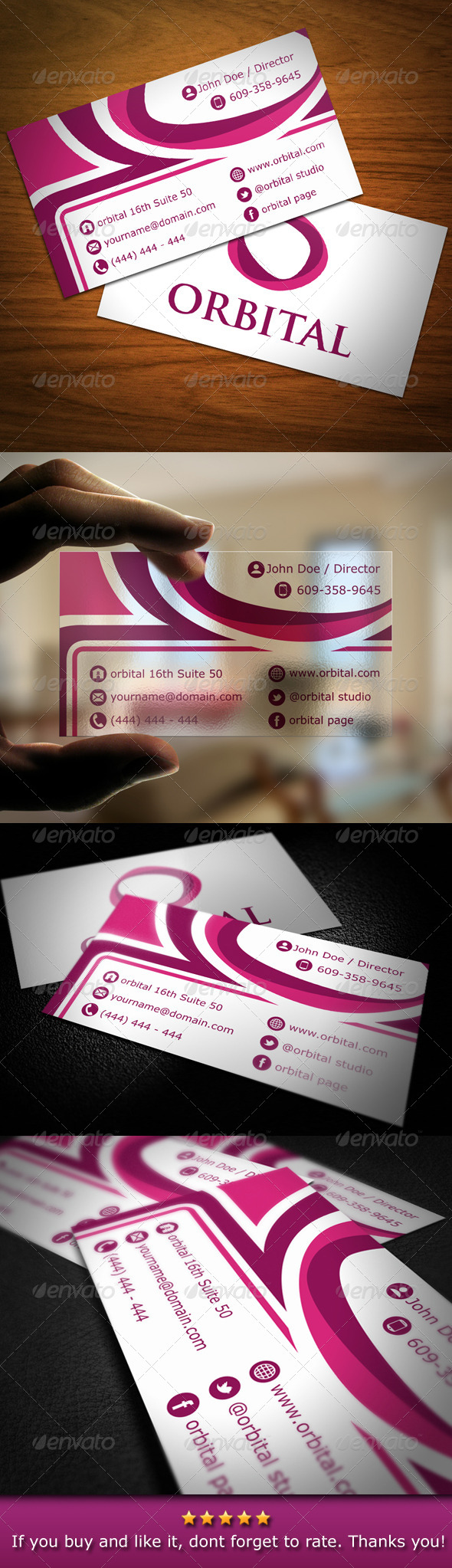 Creative Modern Abstract Business Card