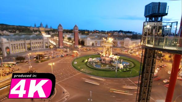 Barcelona Roundabout