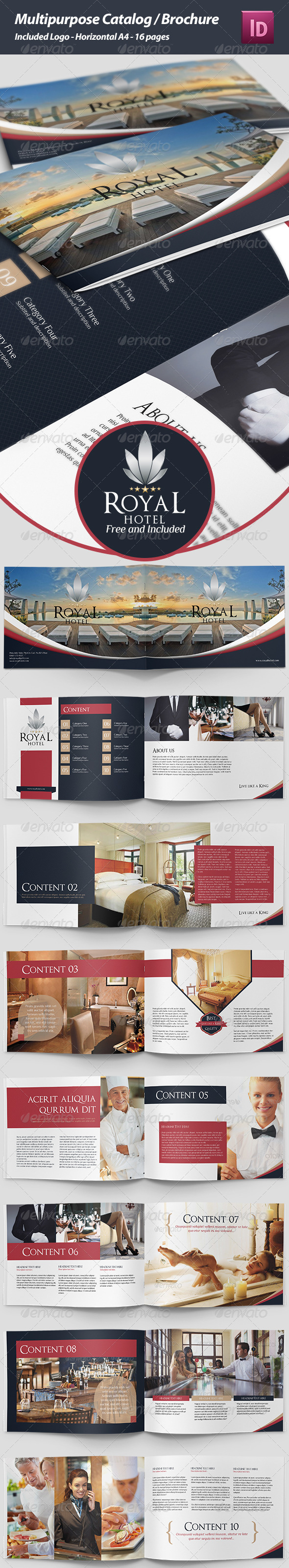 GraphicRiver Catalog Brochure 4757805