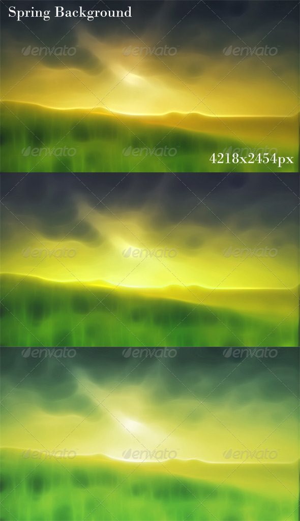GraphicRiver Spring Background 4757833